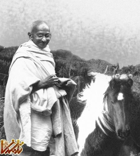 زندگانی ماهتما گاندی  | عکس و تصاویر | www.Tarikhema.ir